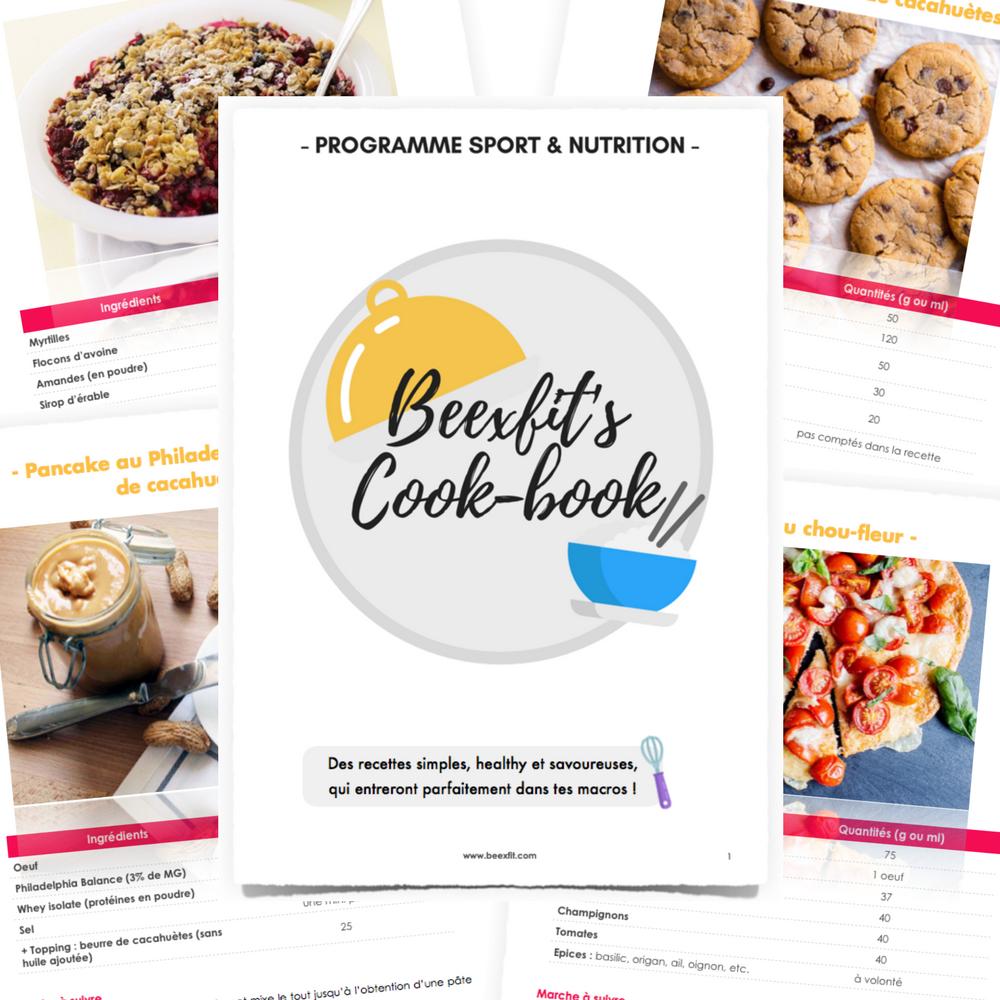 le cook book de beexfit