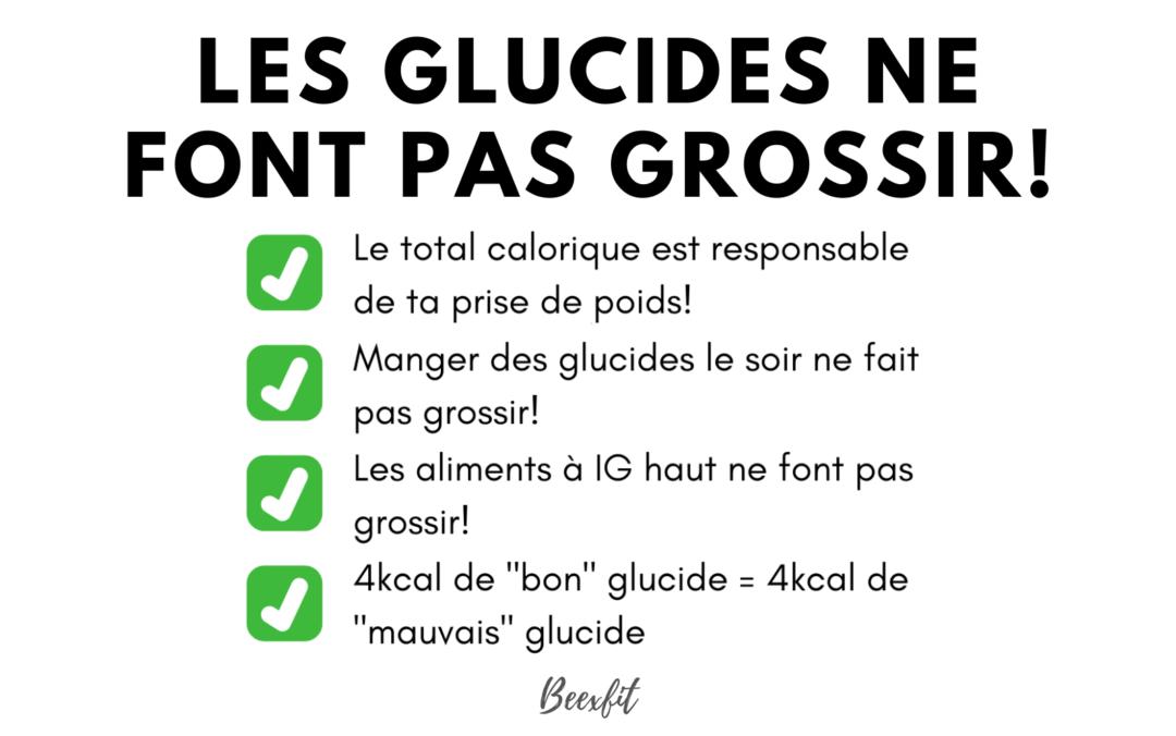Les glucides = le diable?!